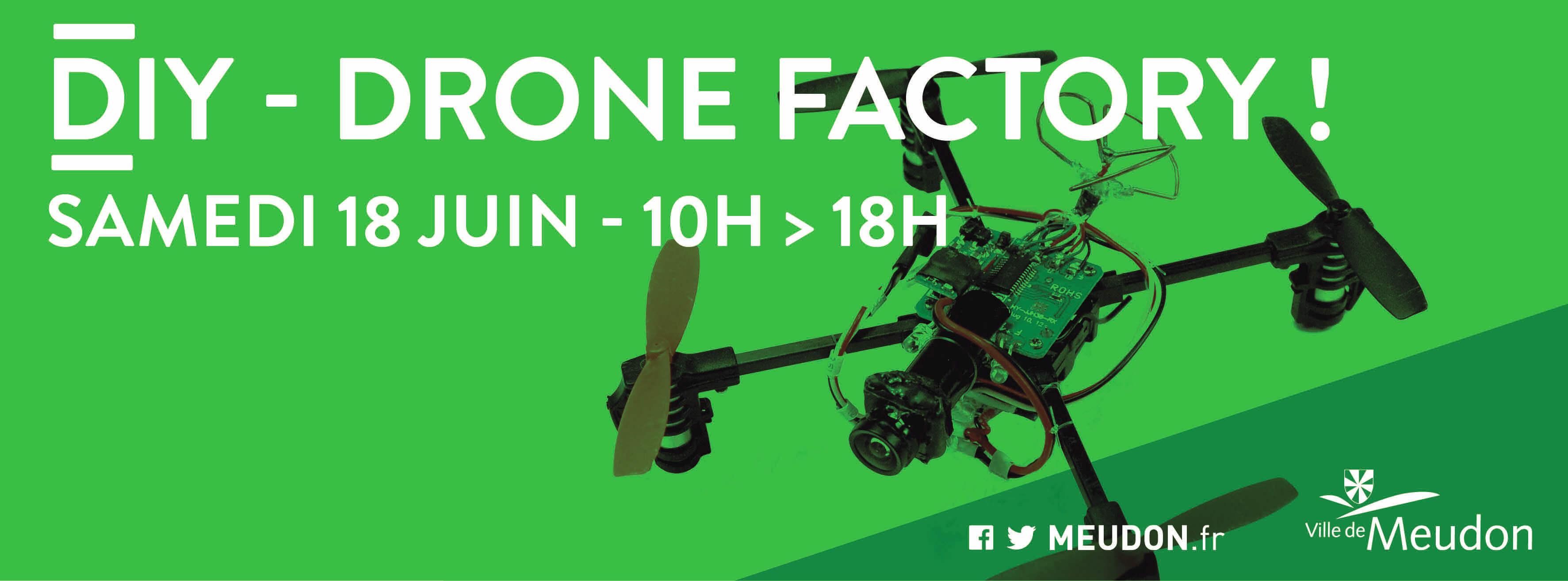 Drone Factory - Espace Multimédia de Meudon